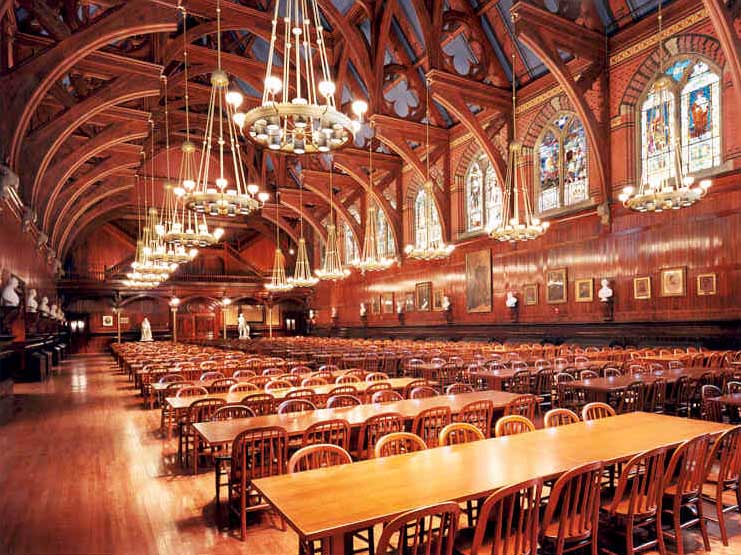 Memorial Hall Harvard Events Management